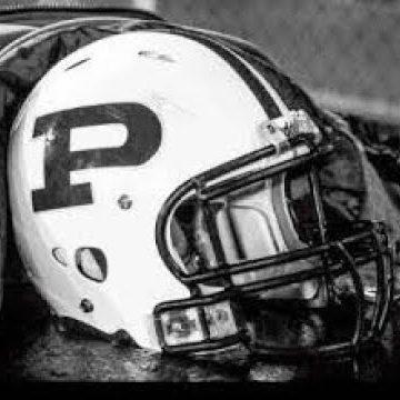 PHS football helmet